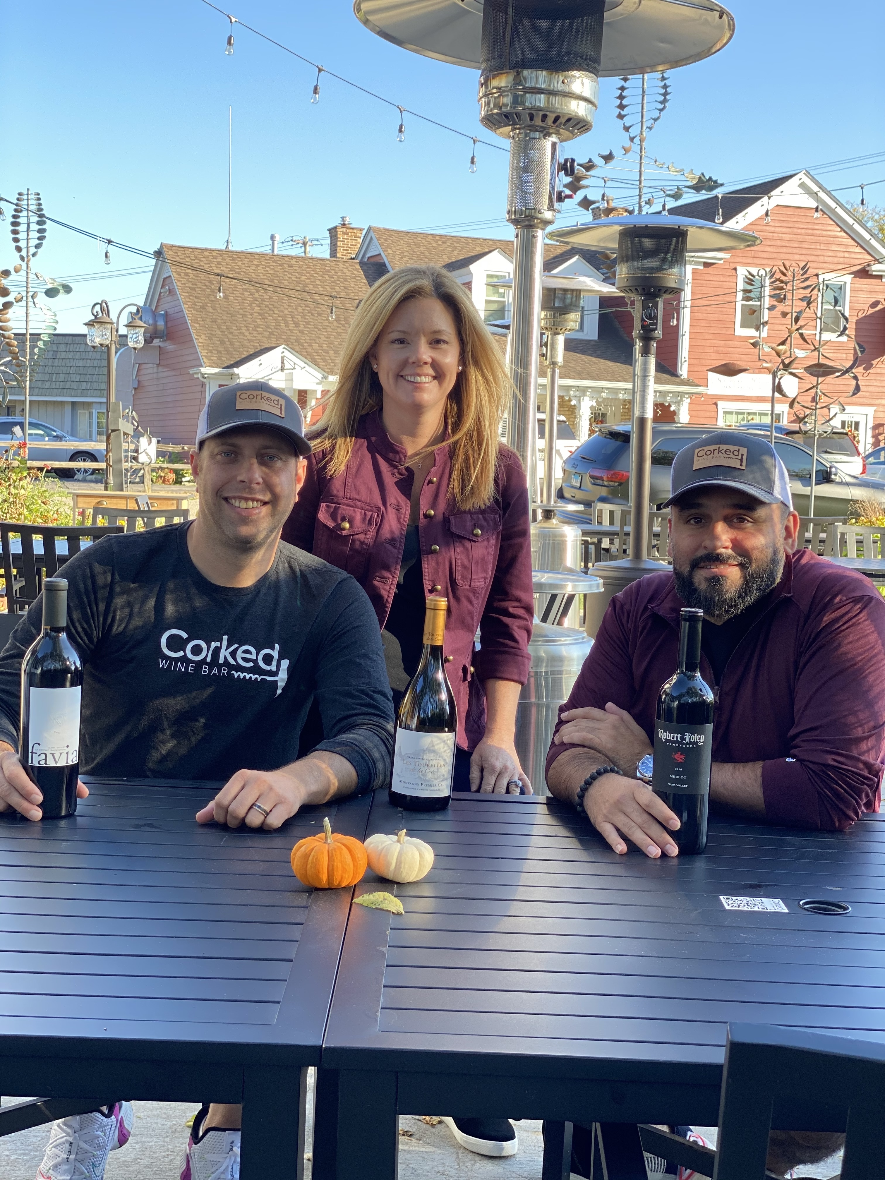 Corked Owners: Ben & JJ Niernberg along with Greg Poulos